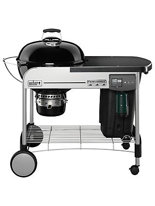 Weber Performer Deluxe Charcoal BBQ, Black