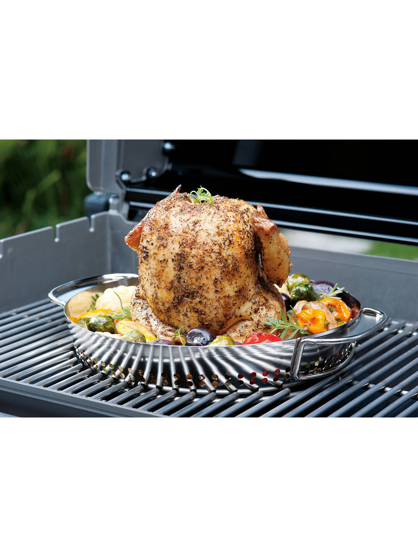 Buy Weber Performer Deluxe Charcoal BBQ, Black Online at johnlewis.com