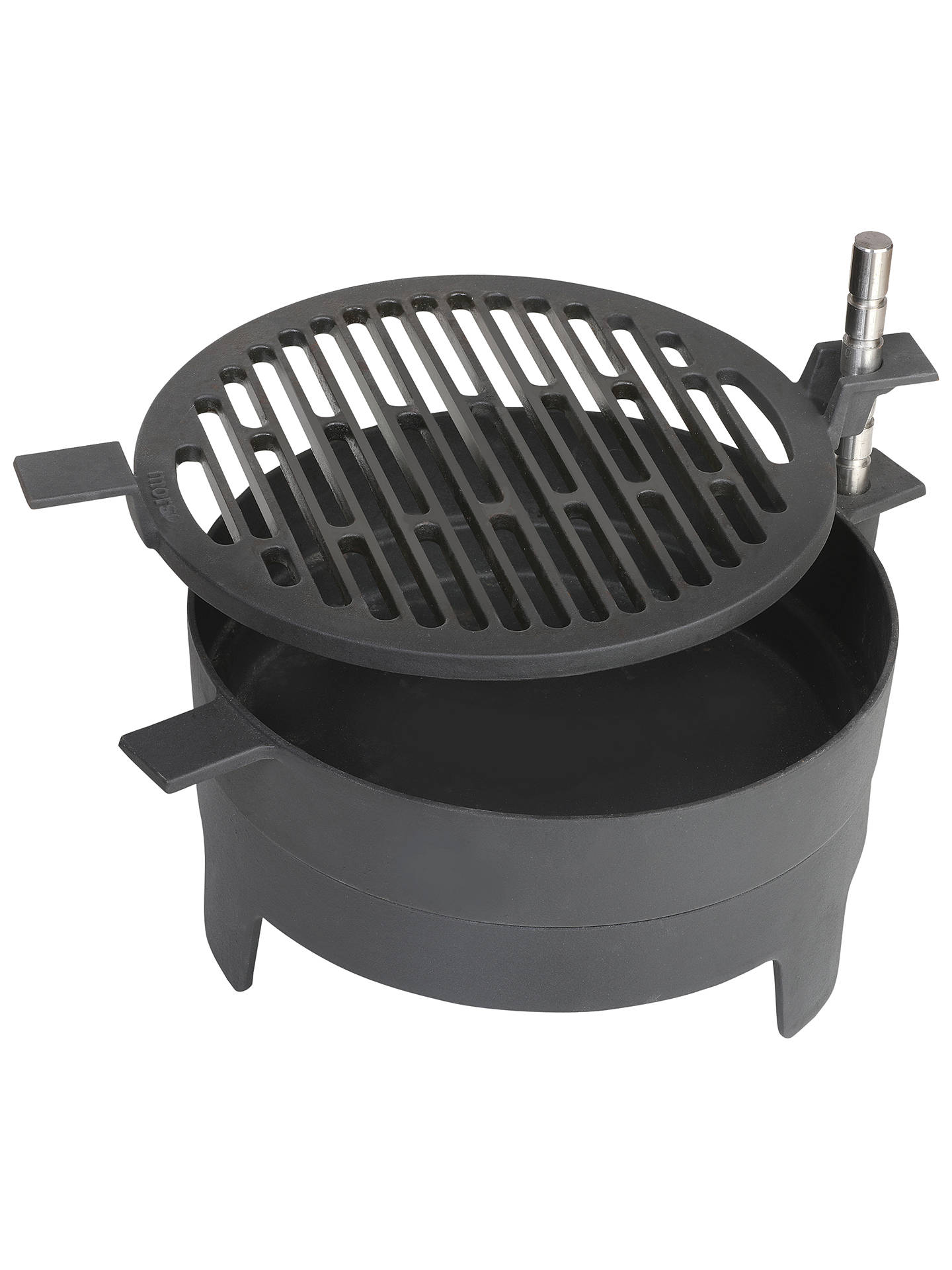 Morsø Tabletop Charcoal Grill Black At