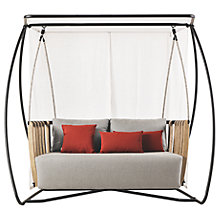 Buy Ethimo Swing Porch Swing, FSC-Certified (Teak), Natural Online at johnlewis.com