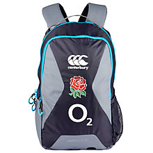 Buy Canterbury of New Zealand England Rugby Backpack, Grey Online at johnlewis.com