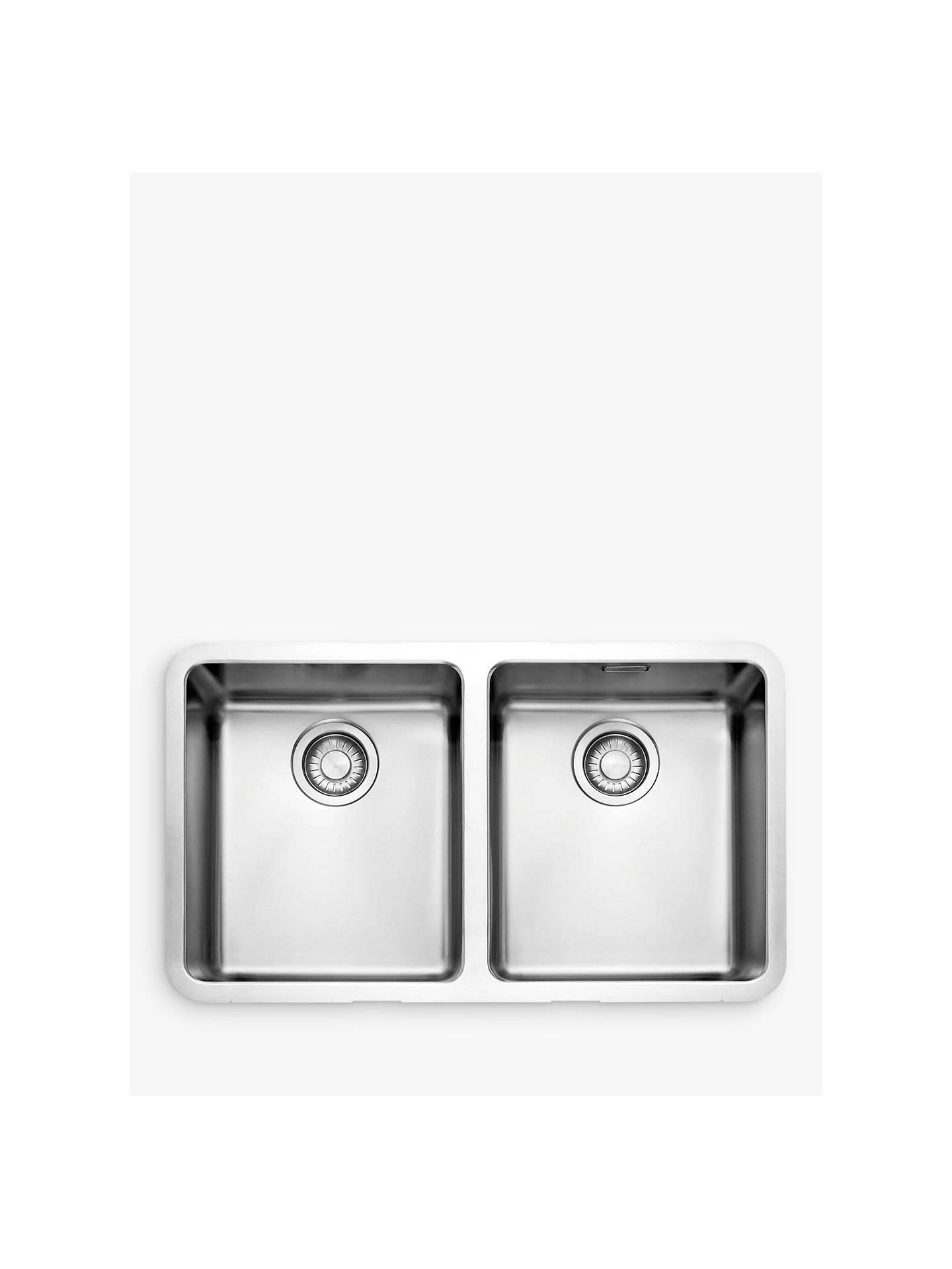 Franke Kubus Kbx 120 34 34 2 Bowl Undermounted Kitchen Sink Stainless Steel