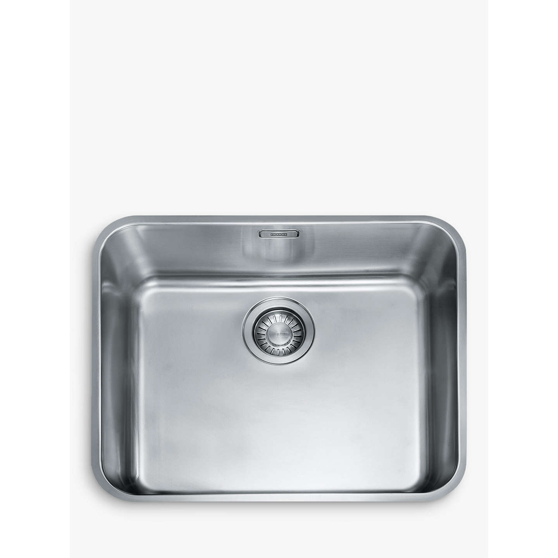 Franke Largo LAX 110 50-41 Undermounted Single Bowl Kitchen Sink ...