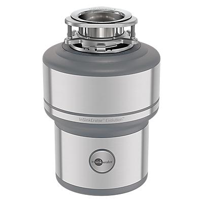 InSinkErator E200 Evolution 200 Kitchen Sink Waste Disposal Unit, Silver