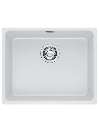 Franke Kubus KBG 110 50 Single Bowl Undermounted Fraganite Kitchen Sink