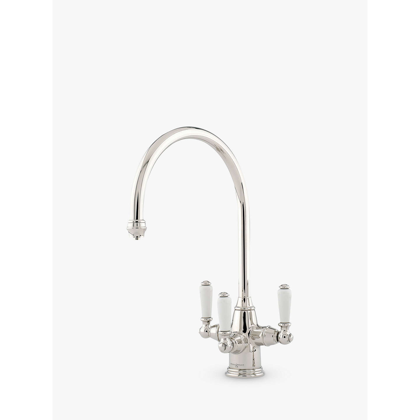 Perrin & Rowe Phoenician 4460 Monobloc 2 Lever Mixer Kitchen Tap at ...