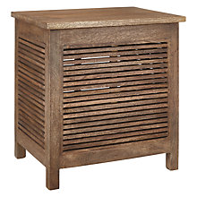 Buy John Lewis Country Square Slatted Storage Box Online at johnlewis.com