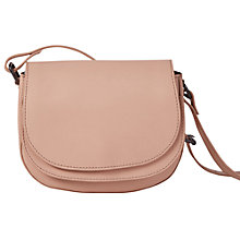 Buy White Stuff Double Saddle Bag, Blossom Pink Online at johnlewis.com
