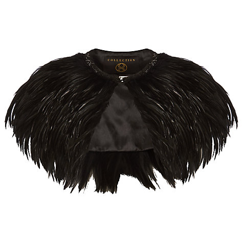 Buy Phase Eight Collection 8 Natalia Feather Cape Online at johnlewis.com