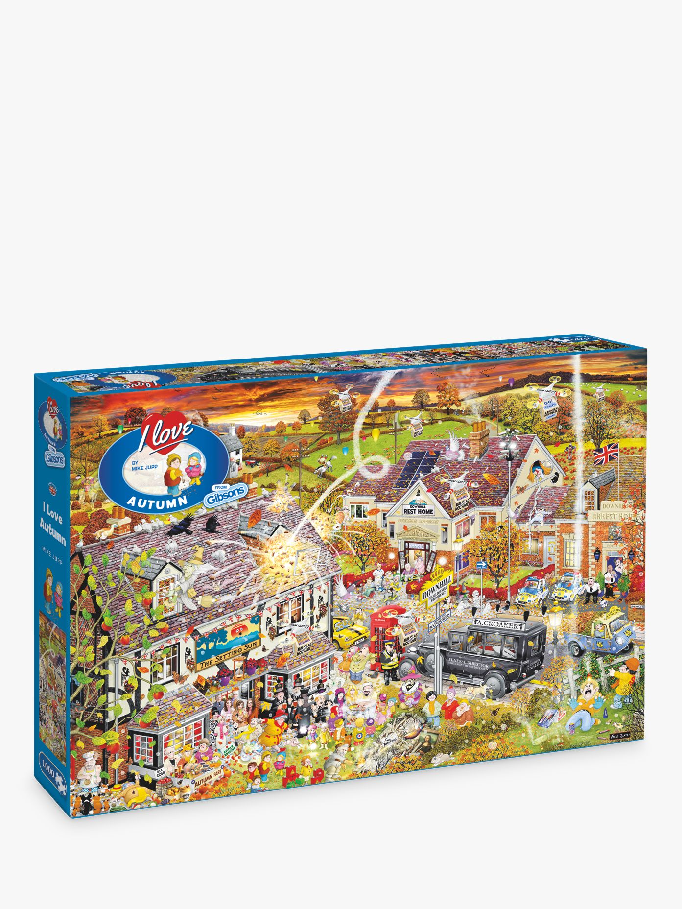 Gibsons Gibsons I Love Autumn Jigsaw Puzzle, 1000 Pieces