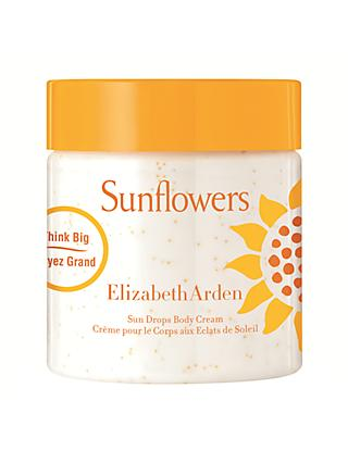Elizabeth Arden Sunflowers Body Cream, 500ml