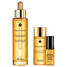 Buy Guerlain Abeille Royale Full Oil Skincare Set Online at johnlewis.com