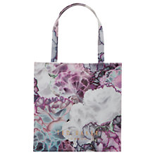 Buy Ted Baker Loracon Illuminated Bloom Small Shopper Bag, Purple Online at johnlewis.com