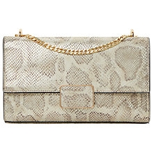 Buy Dune Driya Chain Shoulder Bag, Silver Online at johnlewis.com