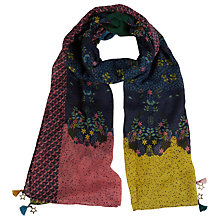 Buy White Stuff Story Telling Scarf, Multi Online at johnlewis.com