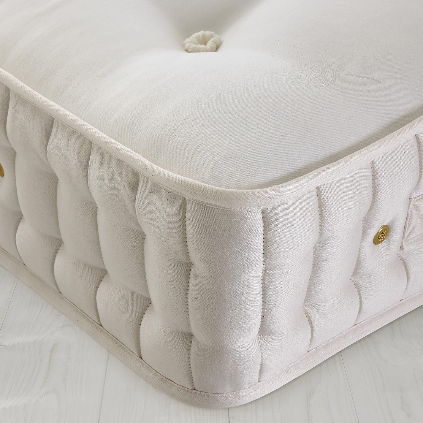 mattress no springs. buy john lewis natural collection 4000 cotton pocket spring mattress, medium, double online at mattress no springs c