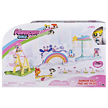 Buy Powerpuff Girls Deluxe Storymaker Rainbow Rally Playset Online at johnlewis.com
