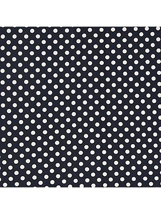 Oddies Textiles Structured Jersey Spot Fabric