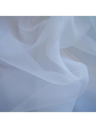 Carrington Fabrics Flirtation Organza Fabric, Ivory