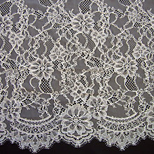 Buy Carrington Fabrics Rebecca Bridal Lace, Ivory Online at johnlewis.com
