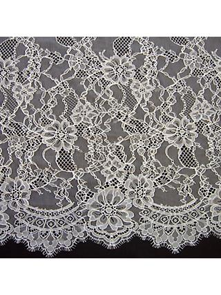 Carrington Fabrics Rebecca Bridal Lace, Ivory