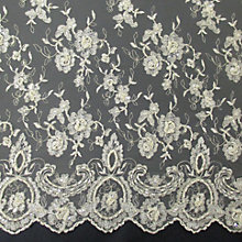 Buy Carrington Fabrics Sienna Bridal Lace Fabric Online at johnlewis.com