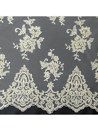 Carrington Fabrics Zara Bridal Lace Fabric