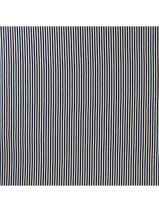Montreux Fabrics Narrow Stripe Jersey Fabric, Navy/Grey