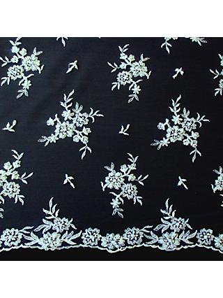 Carrington Fabrics Roxanne Bridal Lace Fabric