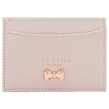 Buy Ted Baker Cilindir Leather Card Holder Online at johnlewis.com