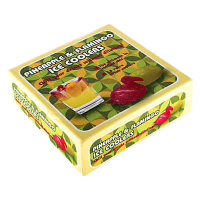 Product photo of Mixology pineapples and flamingos drinks coolers pack of 18