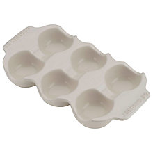 Buy Le Creuset Egg Tray, Almond Online at johnlewis.com