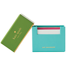 Buy kate spade new york Gift Enclosure Cards Set Online at johnlewis.com