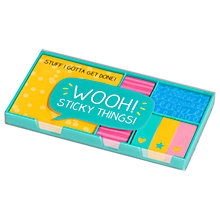 Buy Happy Jackson 'Wooh!' Sticky Note Set Online at johnlewis.com
