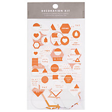 Buy kikki.K Decoration Kit Online at johnlewis.com