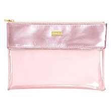 Buy Ban.do Shimmery Peakaboo Clutch, Pink Online at johnlewis.com