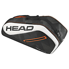 Buy Head Tour Team Combi Tennis Bag, Black Online at johnlewis.com