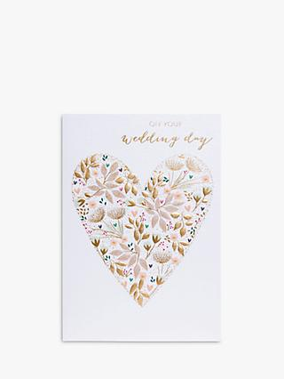 Sara Miller Wedding Day Greeting Card