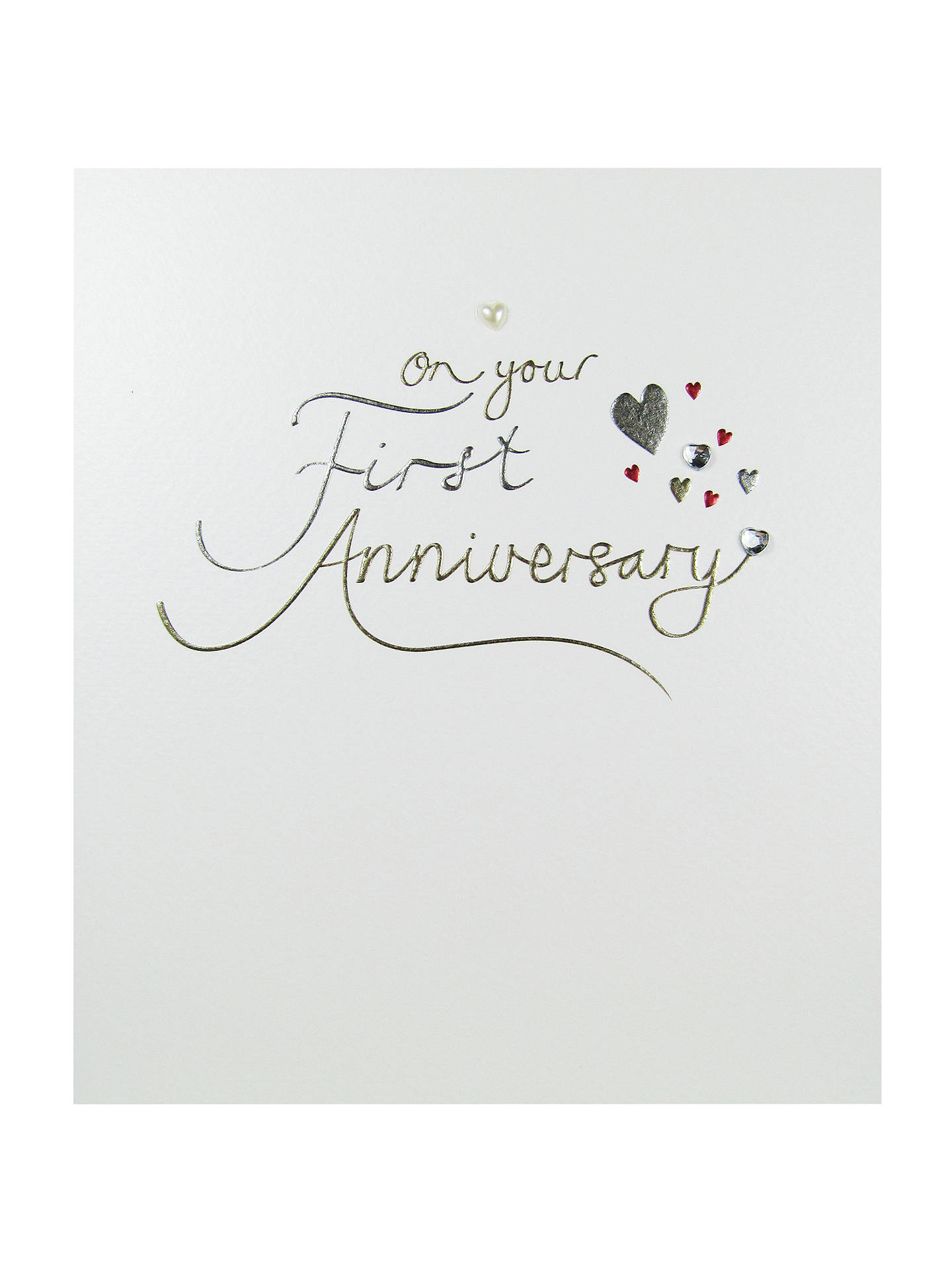 Paperlink First Anniversary Greeting Card At John Lewis Partners