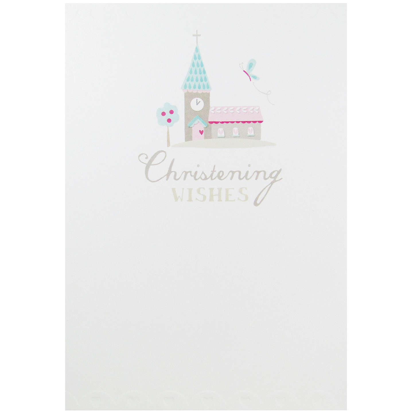 Carte blanche christening greeting card at john lewis buycarte blanche christening greeting card online at johnlewis m4hsunfo