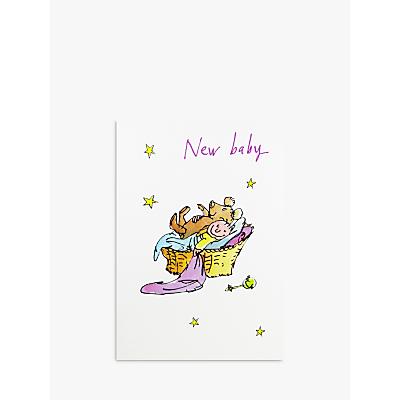 Woodmansterne New Baby Greeting Card