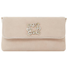Buy Dune Betsey Foldover Jewelled Clutch Bag Online at johnlewis.com