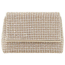 Buy Dune Everlina Clutch Bag, Gold Online at johnlewis.com