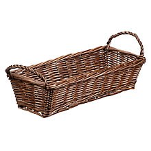 Buy John Lewis Country Willow Bread Basket Online at johnlewis.com