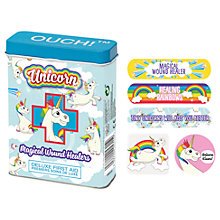 Buy NPW Children's Unicorn Ouch Plasters, Pack of 24 Online at johnlewis.com
