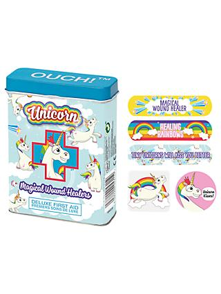 NPW Children's Unicorn Ouch Plasters, Pack of 24