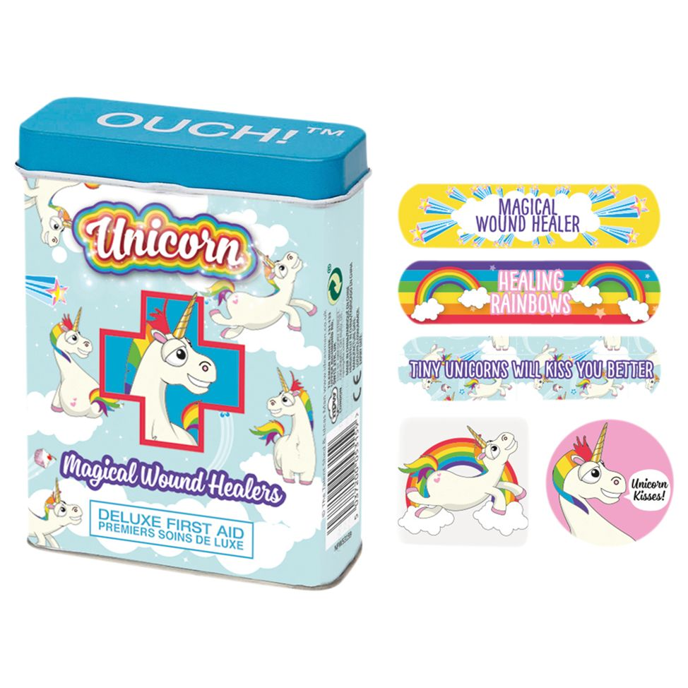 NPW NPW Children's Unicorn Ouch Plasters, Pack of 24
