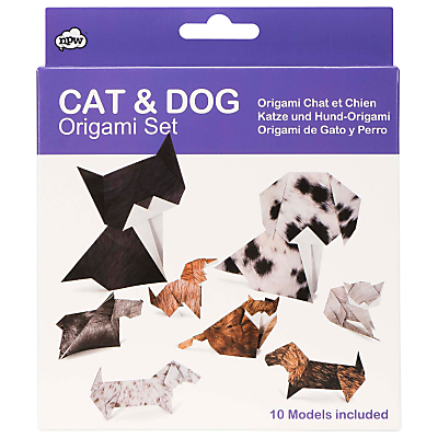 NPW Cat and Dog Origami Kit