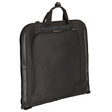 Buy John Lewis Raise Garment Carrier, Black Online at johnlewis.com