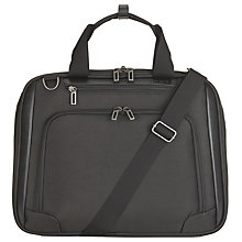 "Buy John Lewis Raise 17"" Laptop Bag, Black Online at johnlewis.com"
